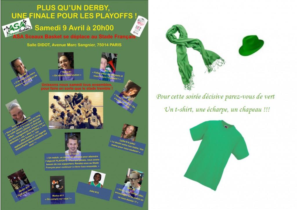 En vert pour les filles